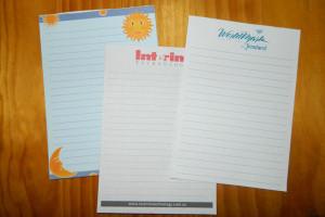A5 Notepaper