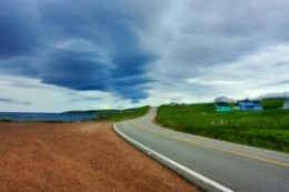 road_and_sky